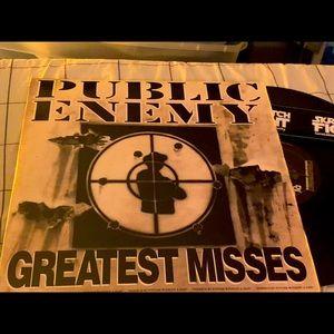 Vinyl records- public enemy